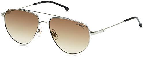 Carrera 2014T/S Pilot Sunglasses, Silver/Brown Gradient, 56mm, 14mm