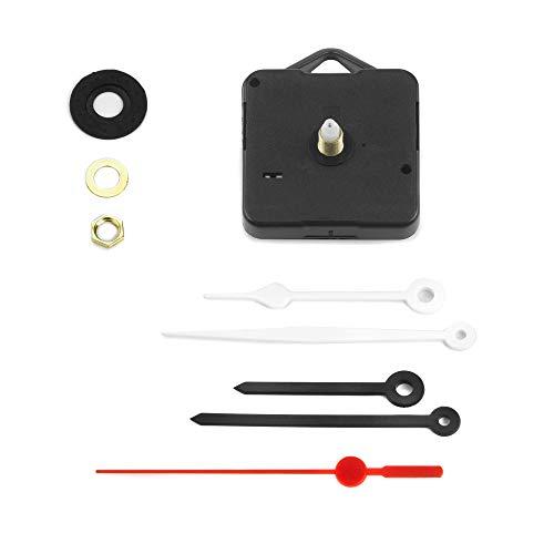 Meccanismo Orologio con Gancio, Silenzioso con Rotazione Continua, 2 Set Lancette, Canotto H 16 mm/Filettatura 10 mm. Azienda specializzata
