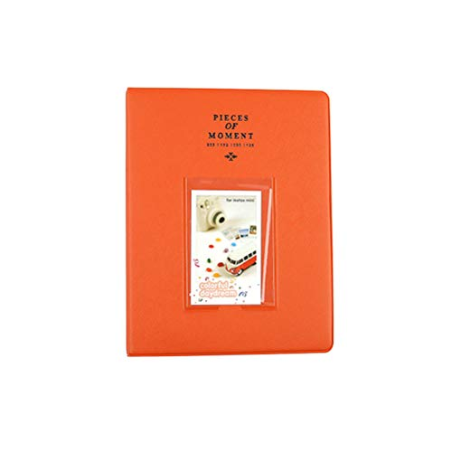 Uonlytech Photo Album Memory Album Book Solid Color Cover Pictures Photography Book Loose-Leaf Photo Album