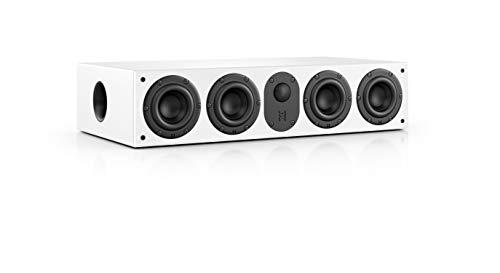 Nubert nuLine CS-64 Centerlautsprecher   Lautsprecher für Heimkino & Musikgenuss   Stimmen auf hohem Niveau   Passive Centerbox mit 2.5 Wege Technik Made in Germany   Kompaktlautsprecher Weiß