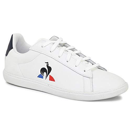 Le Coq Sportif Courtset GS, Zapatillas, Optical White, 30 EU