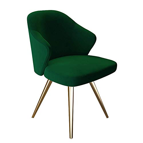 LLYU Silla de Comedor posmoderna de Lujo Ligera Sillón de Respaldo Minimalista nórdico, sillón, diseño ergonómico, Adecuado for la...