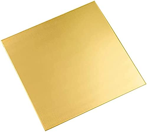 Hzonder Brass Sheet - Copper Sided Double Ultra-Cheap Deals New color C Plate