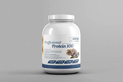 100% pure whey Proteine 90 Professionale, 3000g Cioccolato Cookie + Siero di latte