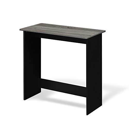 FURINNO Simplistic Study Table, French Oak Grey