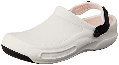 Crocs Unisex-Erwachsene Bistro Pro Literideclog Clogs, Weiß (White 100), 45/46 EU