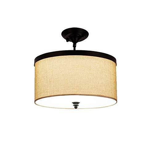 Europea estilo LED Luces pendientes pantalla de la tela Lámpara colgante de hierro Candiles for el salón comedor principal del restaurante del dormitorio para Cocina Restaurante
