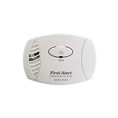 First Alert CO605 Carbon Monoxide Plug-In Alarm with Battery Backup, 1-Pack