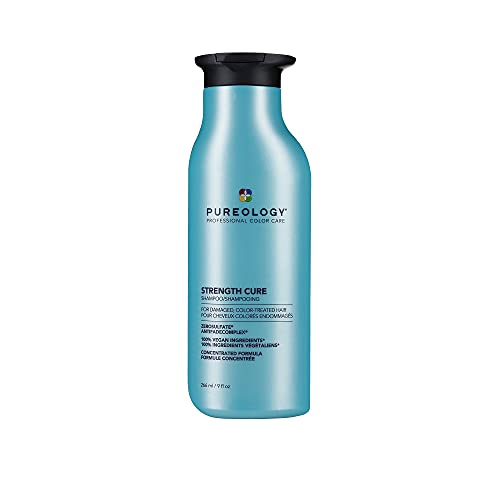 Pureology   Strength Cure   Strengthening Shampoo   For Damaged, Colour...