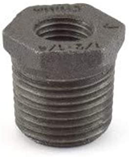 """1/2"""" x 1/4"""" Black Bushing (Imported) - Pack of 150"""