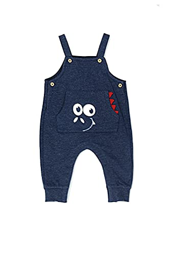 Top Top LANTAKY Pantalones, Marino, 9-12 Unisex bebé