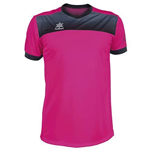 Luanvi Bolton Camiseta Manga Corta de Tenis, Hombre, Rosa, M