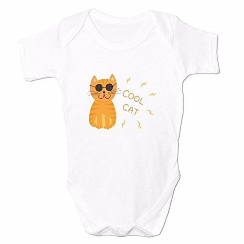 Funny Baby Grows Cute Baby Clothes for Baby Boy Baby Girl Body Vest Cool Cat
