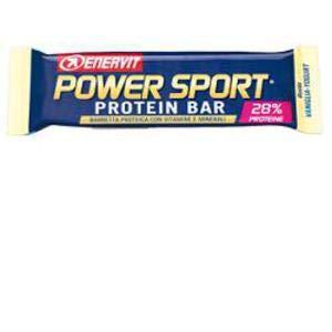 Enervit Power Sport Protein Bar Gluten Free box da 25x40 g. gusto Vaniglia-Yogurt con cioccolato bianco