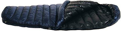 Western Mountaineering TerraLite 25 Degree Sleeping Bag Navy Blue 6FT / Left Zip