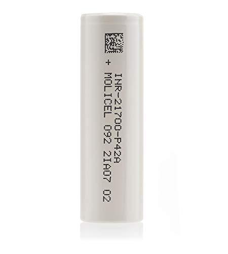 Molicel P42A 21700 Battery (4200mAh) E-Cigarette Battery Vape Battery