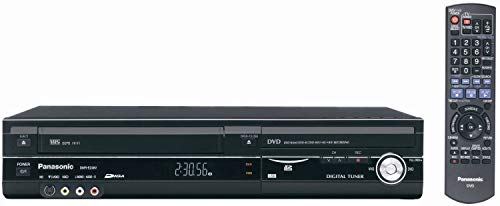 Panasonic DMR-EZ48VP-K 1080p Upconverting VHS DVD Recorder with Built In Tuner (Discontinued in 2012) (Renewed)
