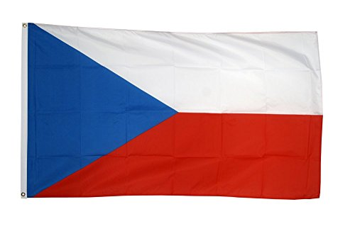 Flaggenfritze Fahne/Flagge Tschechische Republik - 150 x 250 cm + gratis Sticker, XXL-Fahne
