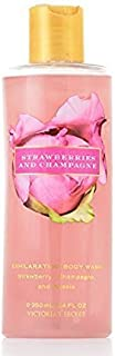 Victoria's Secret Garden Strawberries and Champagne Exhilarating Body Wash 8.4 oz