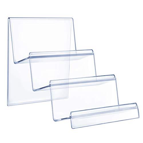 TOPBATHY - Espositore a 3 ripiani in acrilico trasparente, espositore per borsette, portafogli, gioielli e cosmetici