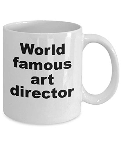 N\A Director de Arte Taza de café Director de Arte de fama Mundial Regalo para directores de Arte Diseñadores gráficos Gerentes