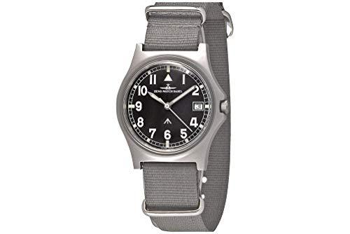 Zeno-Watch PRS-10Q-a1 - Reloj de Pulsera para Hombre (Mecanismo de Cuarzo Medio)