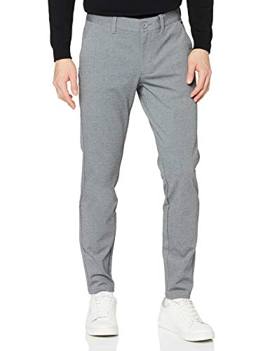 ONLY & SONS Male Hose Mark 3230Medium Grey Melange
