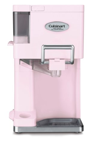 Cuisinart  ICE-45PK Mix It In 1.5 Quart Soft Serve Ice Cream Maker (Pink)