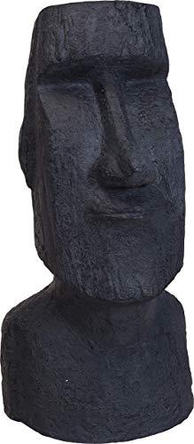 made2trade Handgefertigte Moai Statue - Skulptur für In- und Outdoor aus Wetterfestem MGO Stein - Höhe 78cm