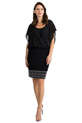 Joseph Ribkoff Black Dress Style 201166 - Spring 2020 Collection (4)