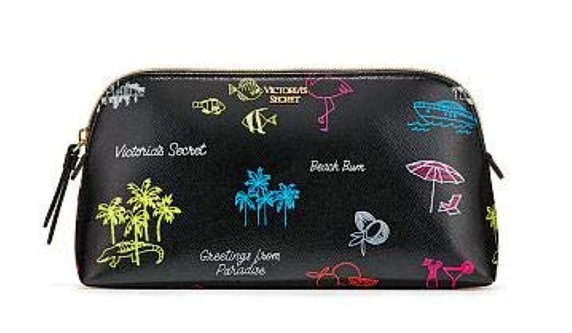 大工表現不和VICTORIA'S SECRET ヴィクトリアシークレット ポーチ スモールサイズ Neon Paradise Beauty Bag [並行輸入品]