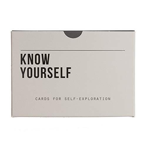 The School of Life | KNOW YOURSELF | KARTENSET interaktives KARTENSET für die bessere Selbsterkenntnis | 60 Karten | englischsprachige Ausgabe