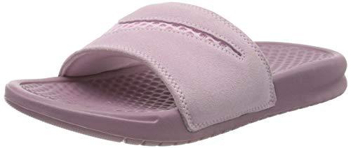 Nike Damen WMNS Benassi JDI Ltr Se Dusch- & Badeschuhe, Mehrfarbig (Pink Foam/Pink Foam/Plum Dust 600), 40.5 EU
