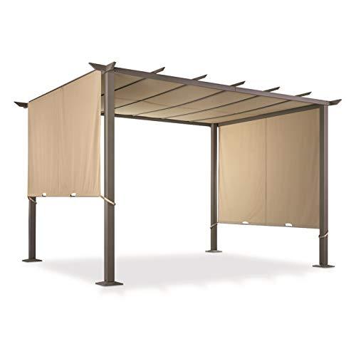 CASTLECREEK 12' x 10' Pergola Gazebo with Retractable Walls