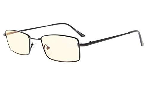 Eyekepper la memoria de titanio gafas de ordenador puente 50