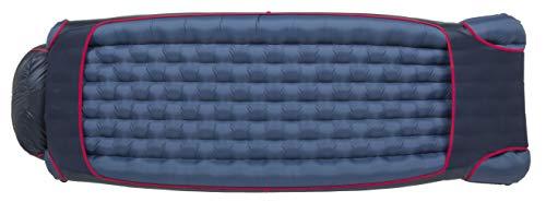 Big Agnes Womens Daisy Mae (650 DownTek) Backpacking and Camping Sleeping Bag, 15 Degree, Regular, Right Zip
