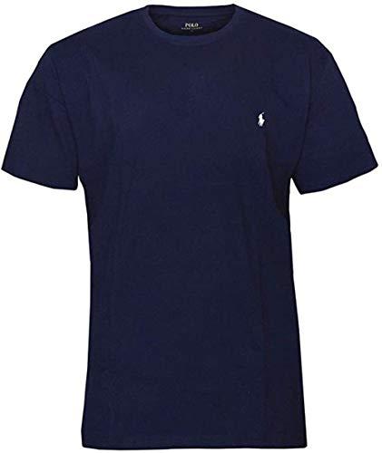 Polo Ralph Lauren   Hombres Camiseta de algodón Azul   RLU_714706745002 - XL