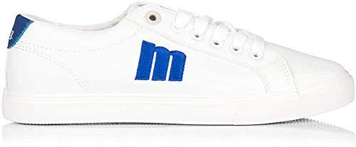 MTNG Attitude 69862, Zapatillas para Mujer, Blanco (Action PU Blanco/Azul C48387), 40 EU