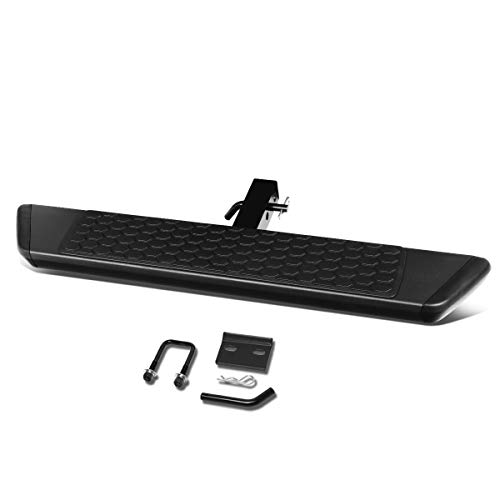 Universal 36 Inches Black Extruded Aluminum Tow Hitch Step Bar Board with...