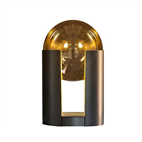 Liangsujian td Lámpara de mesa, lámpara de mesa luces nocturnas, lámparas de mesa atractivas, bajo consumo energético, lámparas de mesilla y de mesa, lámpara de mesita minimalista de metal,