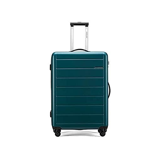 QIXIAOCYB Maletas portátiles/juegos de equipaje livianos maletas de mano de 28 pulgadas/código de mercancía: LWH-19 (color: rojo de arce) (color: verde)