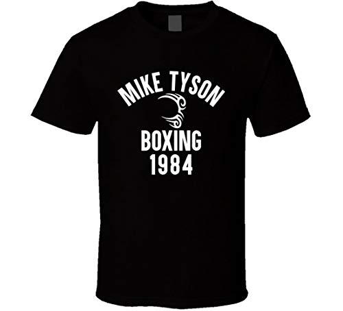 KASANO Mike Tyson Boxing 1984 Gym Training Muscle Running MMA Tattoo T Shirt Nero Nero 3XL