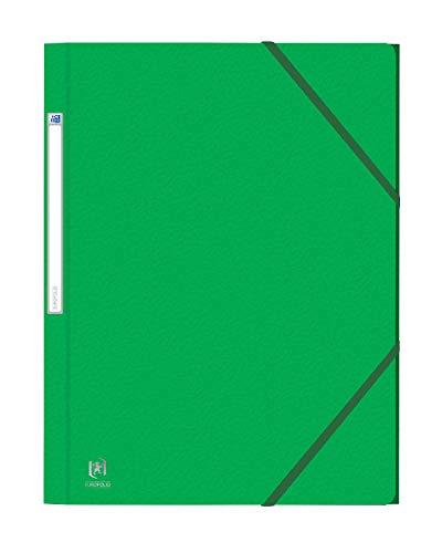 Oxford Eurofolio elastomap A4 - pak 10 groen