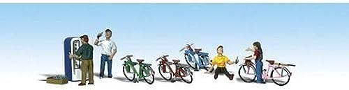 boisLAND SCENICS A2194 Bicycle Buddies N WOOU2194 by boisland Scenics