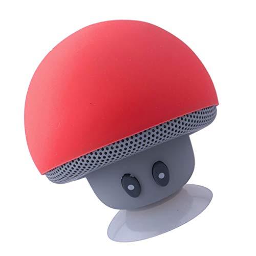 Uzinb Altavoz Dibujos Animados de Setas Bluetooth Ventosa Soporte de teléfono portátil al Aire Libre pequeño Equipo de música