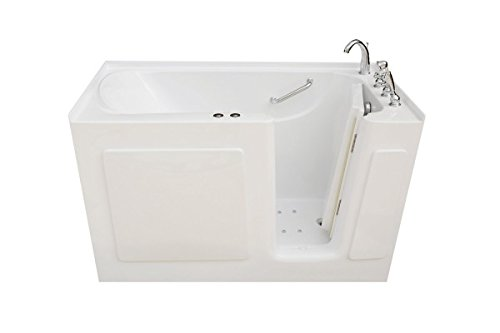 Signature Bath LPI4730-C-LD Walkin Air Injection and Whirlpool Bathtub...