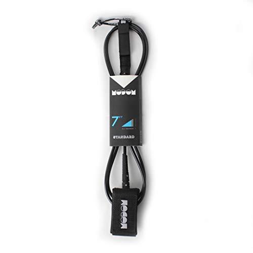 Modom Surf Leash - Cable estándar de Color Negro