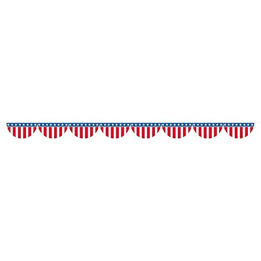 12ft Patriotic American Flag Bunting