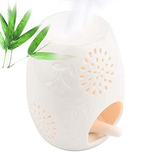 Cereal Tealight Holder Quemador de Aceite Esencial Aromaterapia Cera Vela Torte Quemador Calentador Difusor