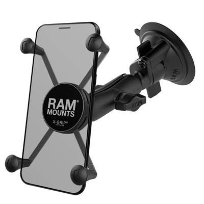RAM X-Grip Large Phone Mount with RAM Twist-Lock Suction Cup Base